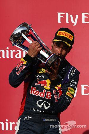 3rd place Daniel Ricciardo, Red Bull Racing RB10