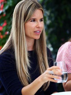 Vivian Rosberg, femme de Nico Rosberg