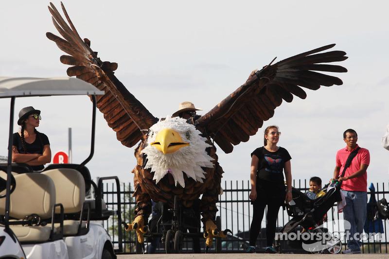 A giant eagle