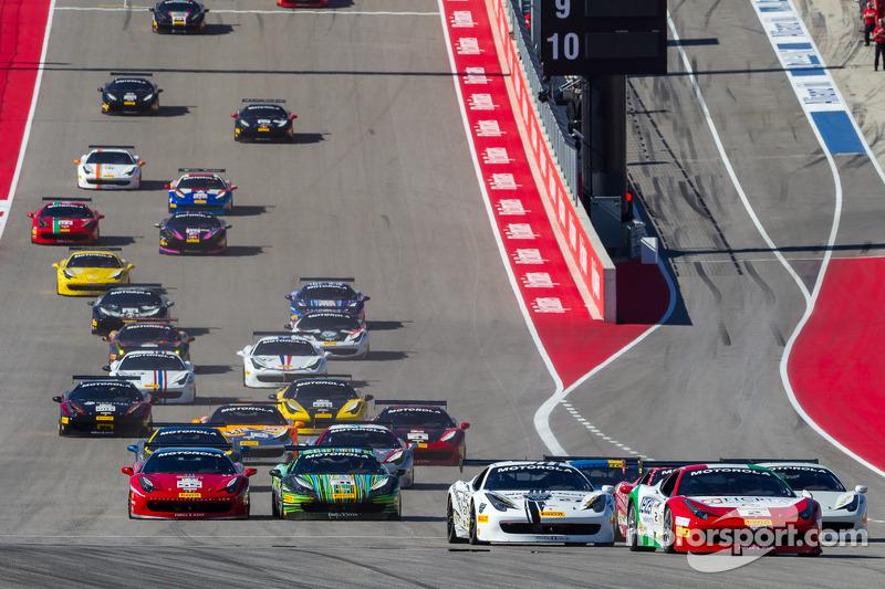 Via: #2 Ferrari of Houston Ferrari 458: Ricardo Perez al comando