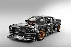 Hevig gemodificeerde Ford Mustang gebruikt in Ken Block's nieuwste Gymkhana