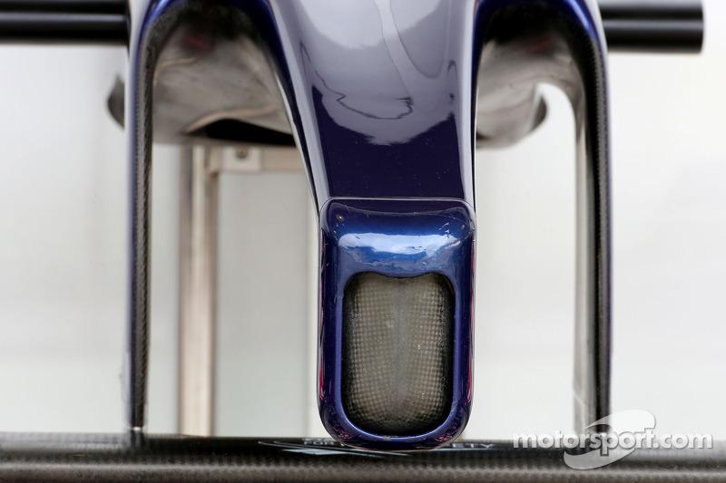 Alerón delantero de Scuderia Toro Rosso