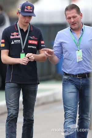 Max Verstappen, Scuderia Toro Rosso en zijn vader Jos