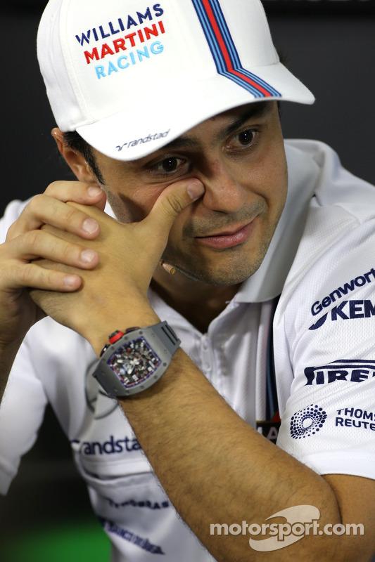 Felipe Massa, Williams F1 Team during the FIA press conference