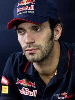 FIA-Pressekonferenz: Jean-Eric Vergne, Scuderia Toro Rosso