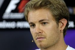 Nico Rosberg, Mercedes AMG F1 Team, tijdens de FIA-persconferentie