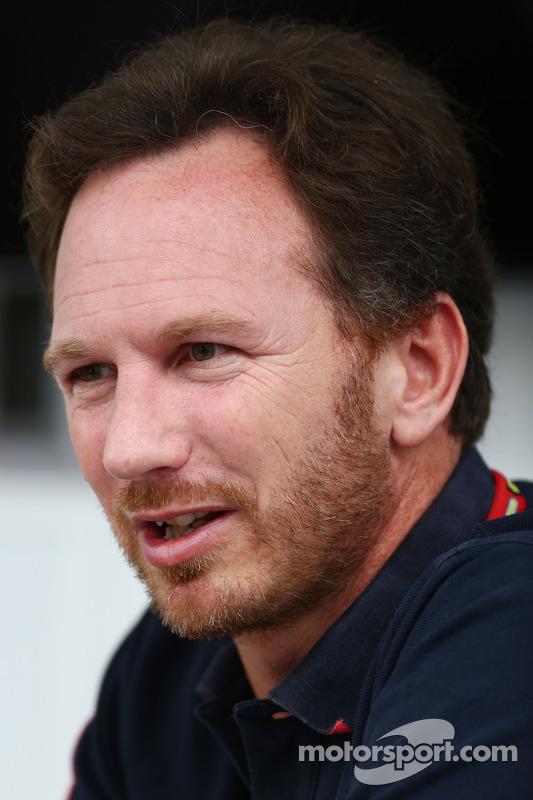 Christian Horner, chefe de equipe da Red Bull