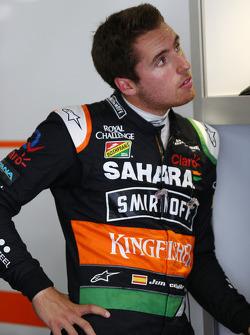 Daniel Juncadella, Sahara Force India F1, Testfahrer