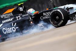 Daniel Juncadella se crashe lors de la séance d'essais libres