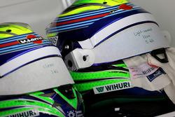 Helme von Felipe Massa, Williams F1 Team 07