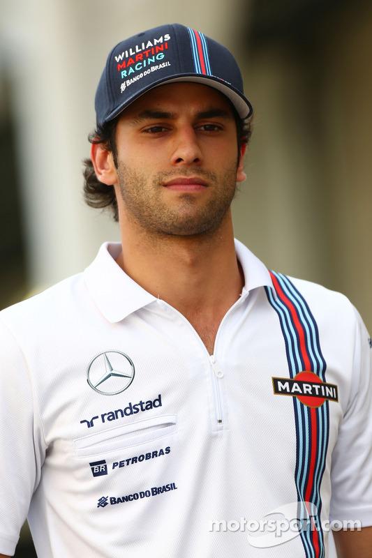 Felipe Nasr, Williams Test ve Yedek Pilotu