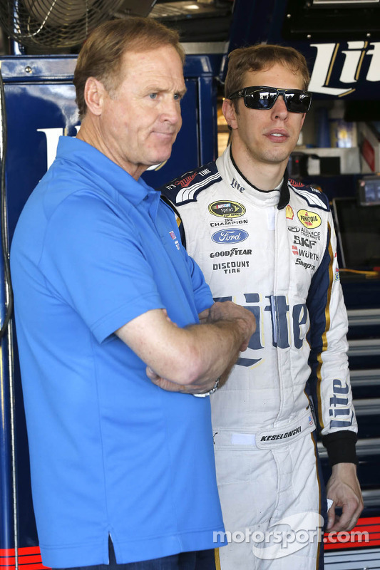 Rusty  Wallace y Brad Keselowski, Team Penske Ford
