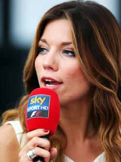 Federica Masolin, Sky Italia Moderatorin