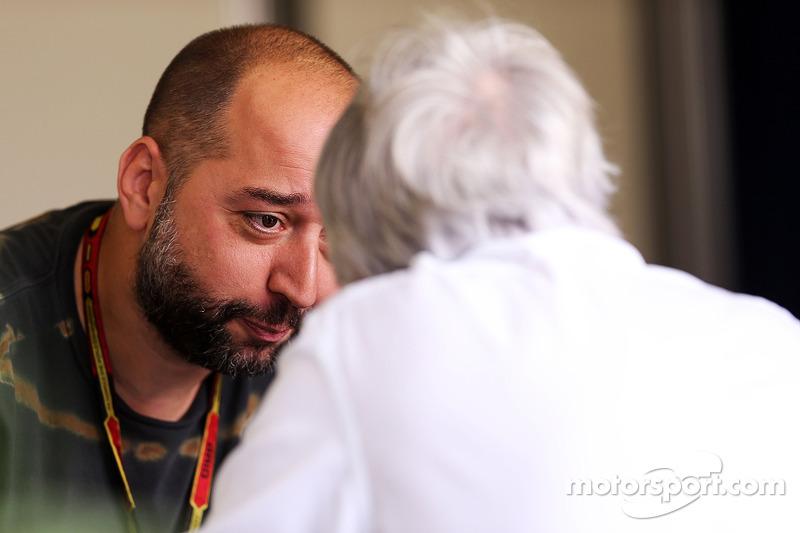 Gérard Lopez avec Bernie Ecclestone