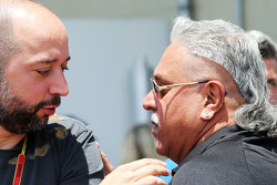 Gerard Lopez, Lotus F1 Team Principal with Dr