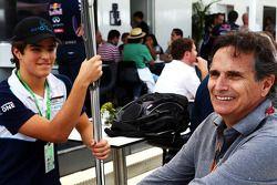 Nelson Piquet, con Pedro Piquet, Porsche GR3 Racer