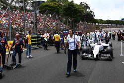 瓦塔里·博塔斯, 威廉姆斯FW36赛车,在起步线上