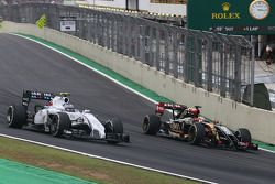 Valtteri Bottas, Williams F1 Team en Pastor Maldonado, Lotus F1 Team
