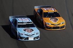 J.J. Yeley, BK Racing Toyota and Alex Bowman, BK Racing Toyota
