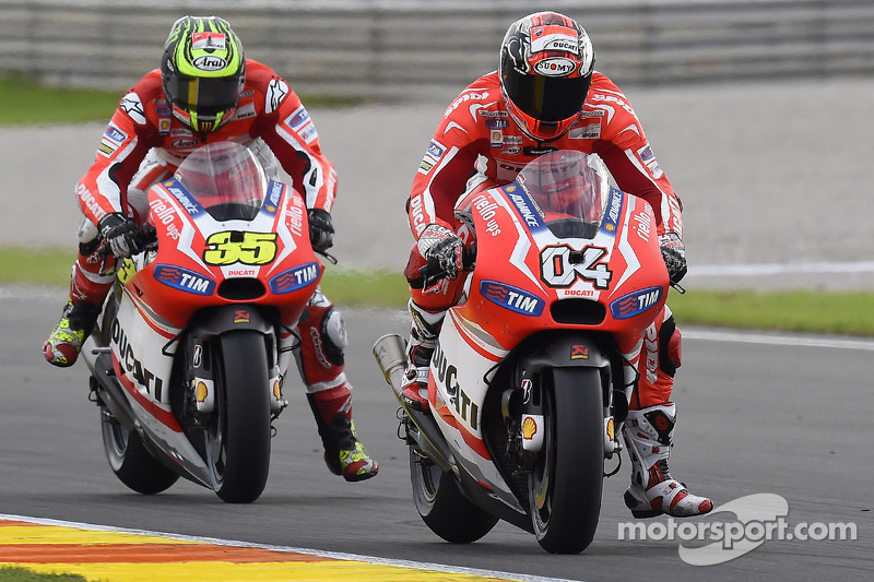 Ducati Desmosedici 2014 - Andrea Dovizioso e Cal Crutchlow