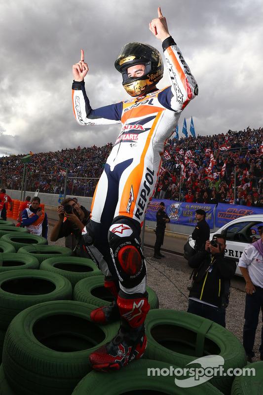 Vencedor da corrida Marc Marquez, Respol Honda Team