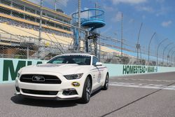 The Ford Mustang pace car