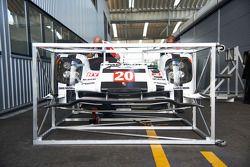 L'équipement Porsche transporté vers Bahreïn