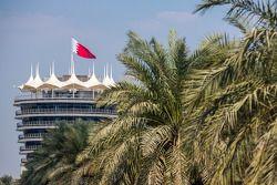 Sakhir Tower op het Bahrain International Circuit