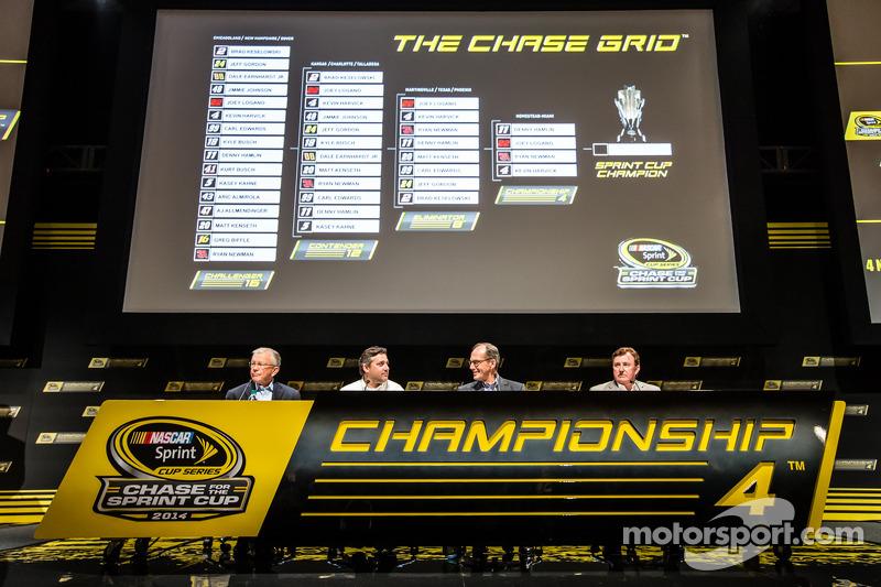 Şampiyona yarışmacıları Basın konferansı: Takım Sahibi Joe Gibbs, Tony Stewart, Stewart-Haas Racing
