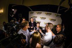 Championship contenders press conference: Denny Hamlin, Joe Gibbs Racing Toyota