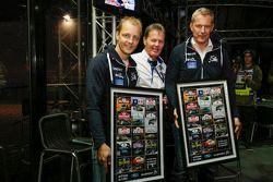 Mikko Hirvonen and Jarmo Lehtinen, M-Sport Ford and Malcolm Wilson