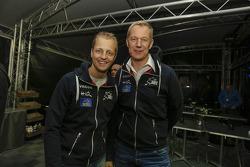 Mikko Hirvonen y Jarmo Lehtenen, M-Sport Ford