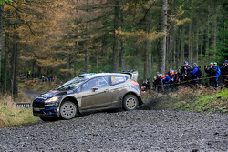 Mikko Hirvonen y Jarmo Lehtenen, M-Sport Ford Fiesta WRC