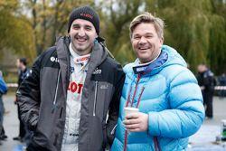 Robert Kubica and Henning Solberg