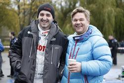 Robert Kubica y Henneng Solberg