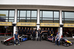 Squadra Van Amerfoort racing con Gustavo Menezes, Van Amersfoort Racing Dallara F312 Volkswagen-Spi