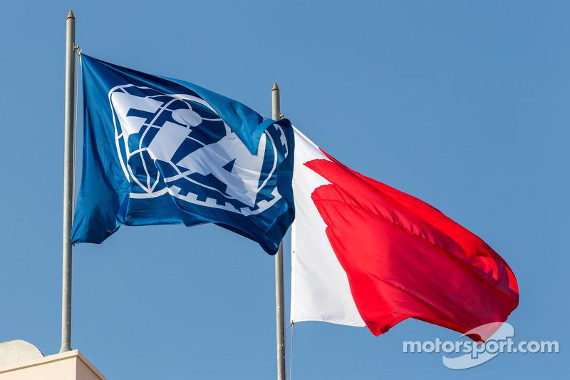 Bandera de la FIA en Qatar