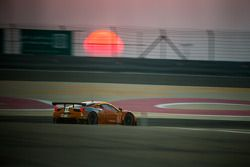 Zonsondergang bij het Bahrain International Circuit