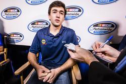 Persconferentie van de Nationwide Series en Camping World Truck Series: Chase Elliott