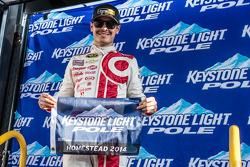 Pole position Kyle Larson