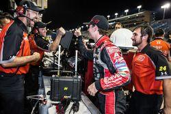 Pole winner Jeff Gordon, Hendrick Motorsports Chevrolet celebrates