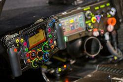 Cockpit of the #14 Porsche Team Porsche 919 Hybrid