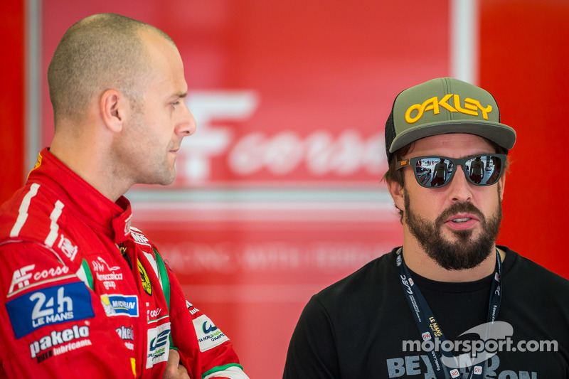 Gianmaria Bruni ve Fernando Alonso