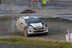 Ott Tanak and Molder Raigo, Ford Fiesta WRC