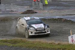 Ott Tanak y Molder Raigo, Ford Fiesta WRC