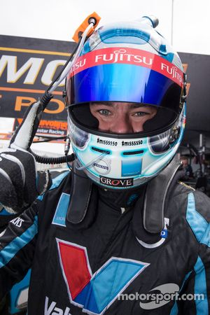 Race winner Scott McLaughlin, Polestar Racing Volvo S60