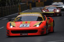 #37 BBT Team por AF Corse Ferrari 458 GT3: Anthony Liu