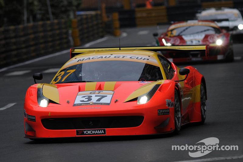 #37 BBT Team by AF Corse 法拉利 458 GT3: 刘旭