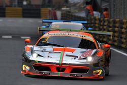#3 Clearwater Racing Ferrari 458 Italia GT3: Weng Sun Mok