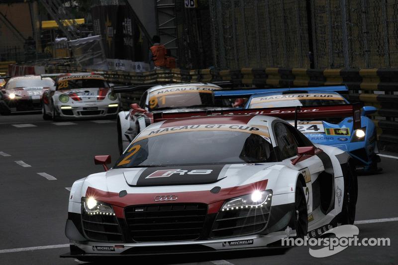 #2 Audi Race Experience R8 GT3 ultra: Laurens Vanthoor